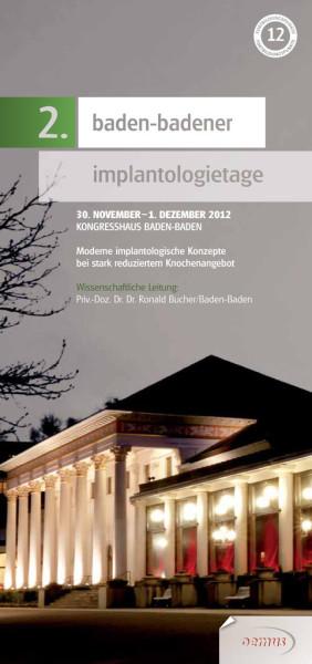 2. Baden-Badener Implantologietage