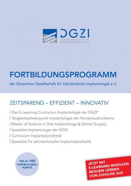 Fortbildungsprogramm DGZI 2014