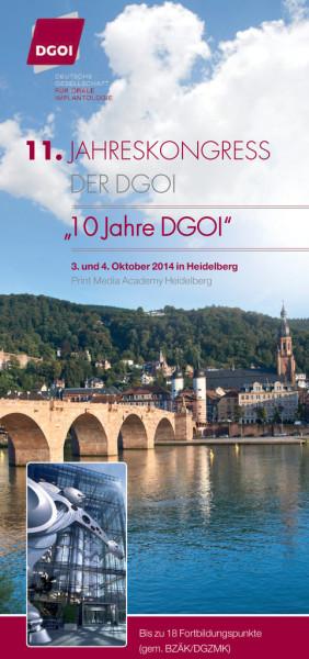 11. Jahreskongress der DGOI