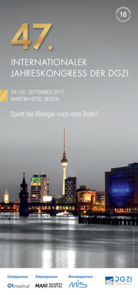 47. Internationaler Jahreskongress der DGZI