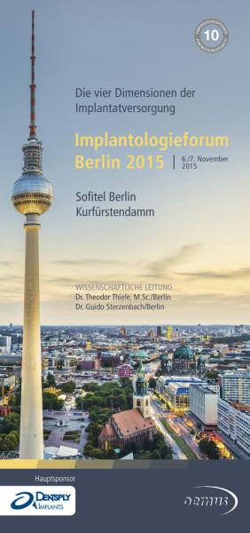 Implantologieforum Berlin 2015
