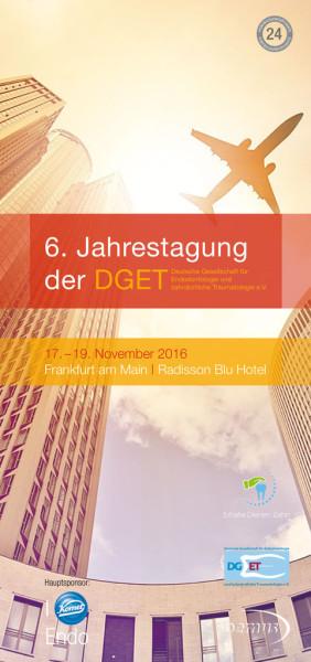 6. Jahrestagung der DGET