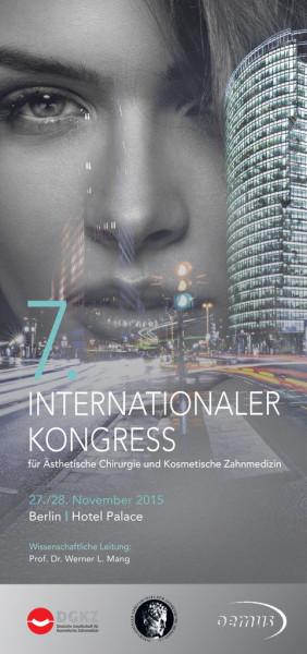7. Internationaler Kongress für Ästhetische Chirurgie & Kosmetische Zahnmedizin