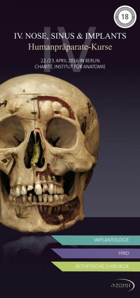 4. Nose, Sinus & Implants – Humanpräparate-Kurs für Implantologen ...