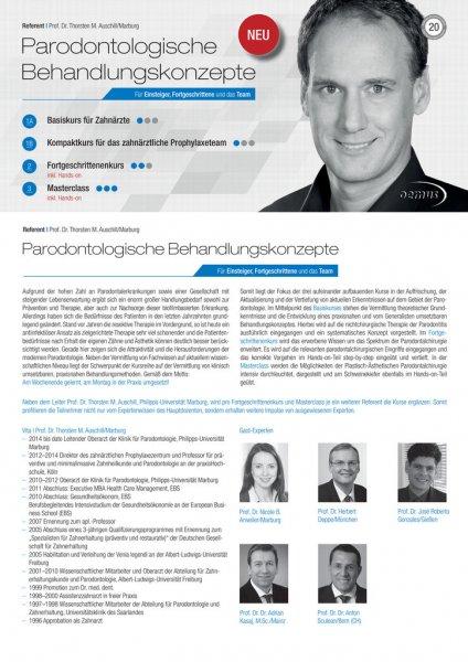 Parodontologische Behandlungskonzepte