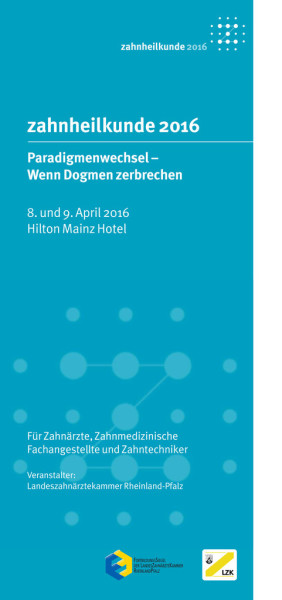 Zahnärztetag Rheinland-Pfalz 2016