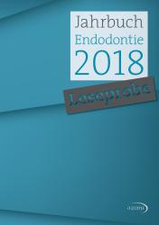 Jahrbuch Endodontie 18 2018