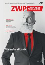 ZWP Zahnarzt Wirtschaft Praxis 09 2017