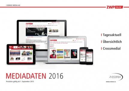 Mediadaten ZWP online