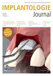 Implantologie Journal 10 2017