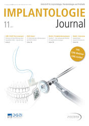 Implantologie Journal 11/2017