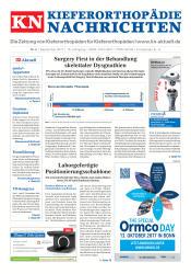 KN Kieferorthopädie Nachrichten 09/2017