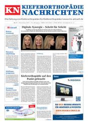 KN Kieferorthopädie Nachrichten 11/2017
