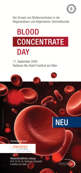1st Autologous Blood Concentrate Day
