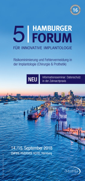 5. Hamburger Forum für Innovative Implantologie