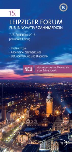 15. Leipziger Forum für Innovative Zahnmedizin