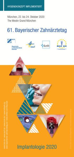 61. Bayerischer Zahnärztetag