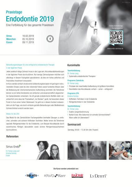 Praxistage Endodontie 2019