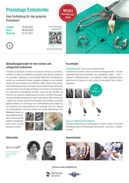 Praxistage Endodontie