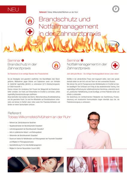 Brandschutz und Notfallmanagement in der Zahnarztpraxis