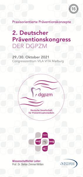 2. Deutscher Präventionskongress der DGPZM