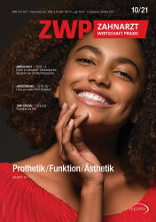 ZWP Zahnarzt Wirtschaft Praxis 10/21