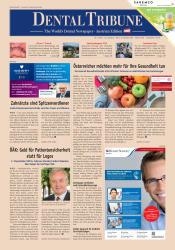 Dental Tribune Österreich 07/19