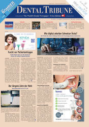 Dental Tribune Schweiz 08/19