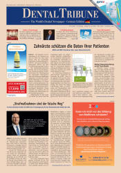 Dental Tribune Deutschland 05/2018