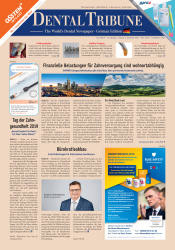 Dental Tribune Deutschland 06/2019
