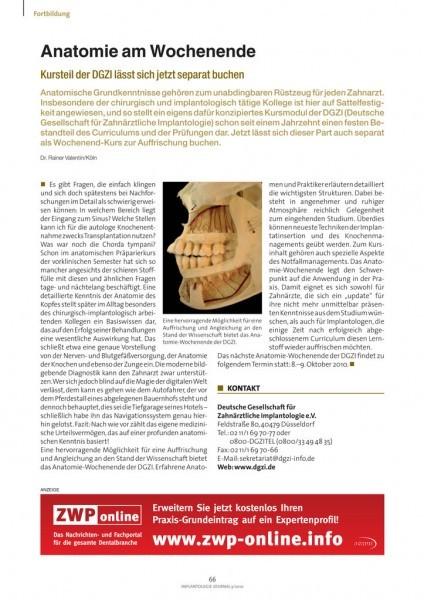 Implantologie Journal - ZWP online - das Nachrichtenportal für die ...