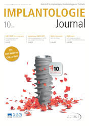 Implantologie Journal 10/2018