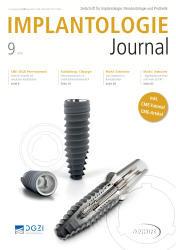 Implantologie Journal 09/2019