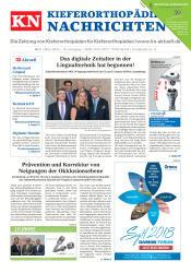 KN Kieferorthopädie Nachrichten 03 2018
