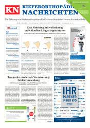 KN Kieferorthopädie Nachrichten 05/2018