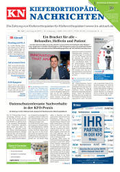 KN Kieferorthopädie Nachrichten 07-08 2018