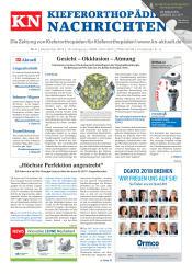 KN Kieferorthopädie Nachrichten 09/2018