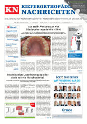 KN Kieferorthopädie Nachrichten 10 2018