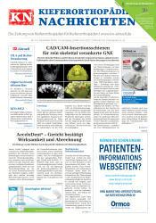 KN Kieferorthopädie Nachrichten 12 2018