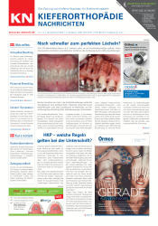 KN Kieferorthopädie Nachrichten 01-02 2019