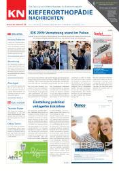 KN Kieferorthopädie Nachrichten 04/19