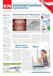 KN Kieferorthopädie Nachrichten 07-08/2019