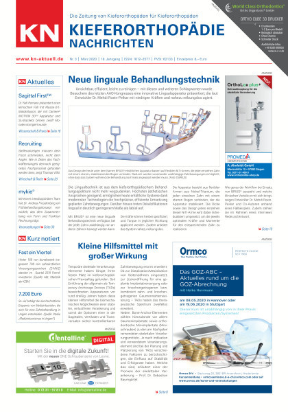 KN Kieferorthopädie Nachrichten