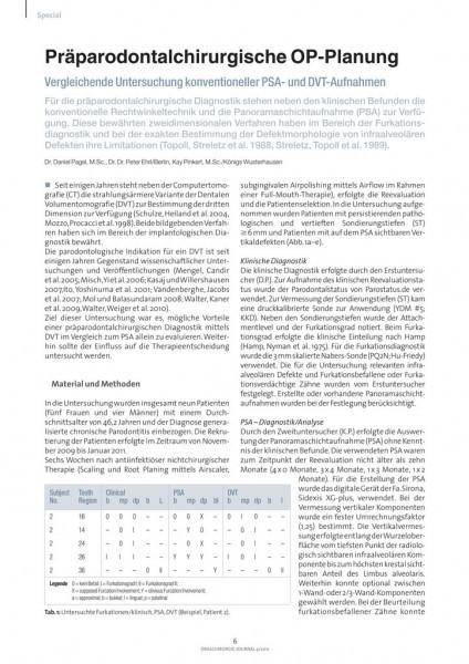 Fur Die Praparodontalchirurgische Diagnostik Stehen Neben Den Klinischen Befunden Konventionelle Rechtwinkeltechnik Und Panoramaschichtaufnahme