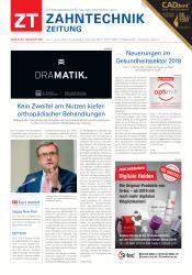 ZT Zahntechnik Zeitung 01 2019