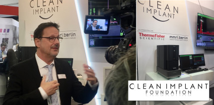 CleanImplant prüft Sauberkeit von Implantaten während der IDS 2021