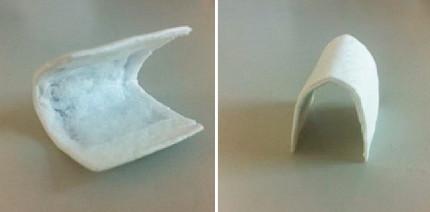 Volumenstabile Magnesium-Kollagen-basierte Barrieremembran