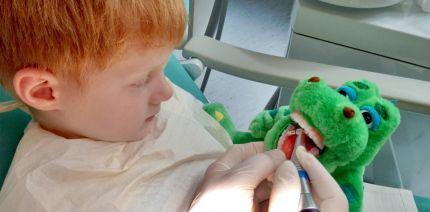 """""""Tell – Show – Do"""": Kommunikation in der Kinderzahnheilkunde"""