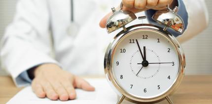 Zeit pro Patient liegt bei vielen Medizinern unter 16 Minuten