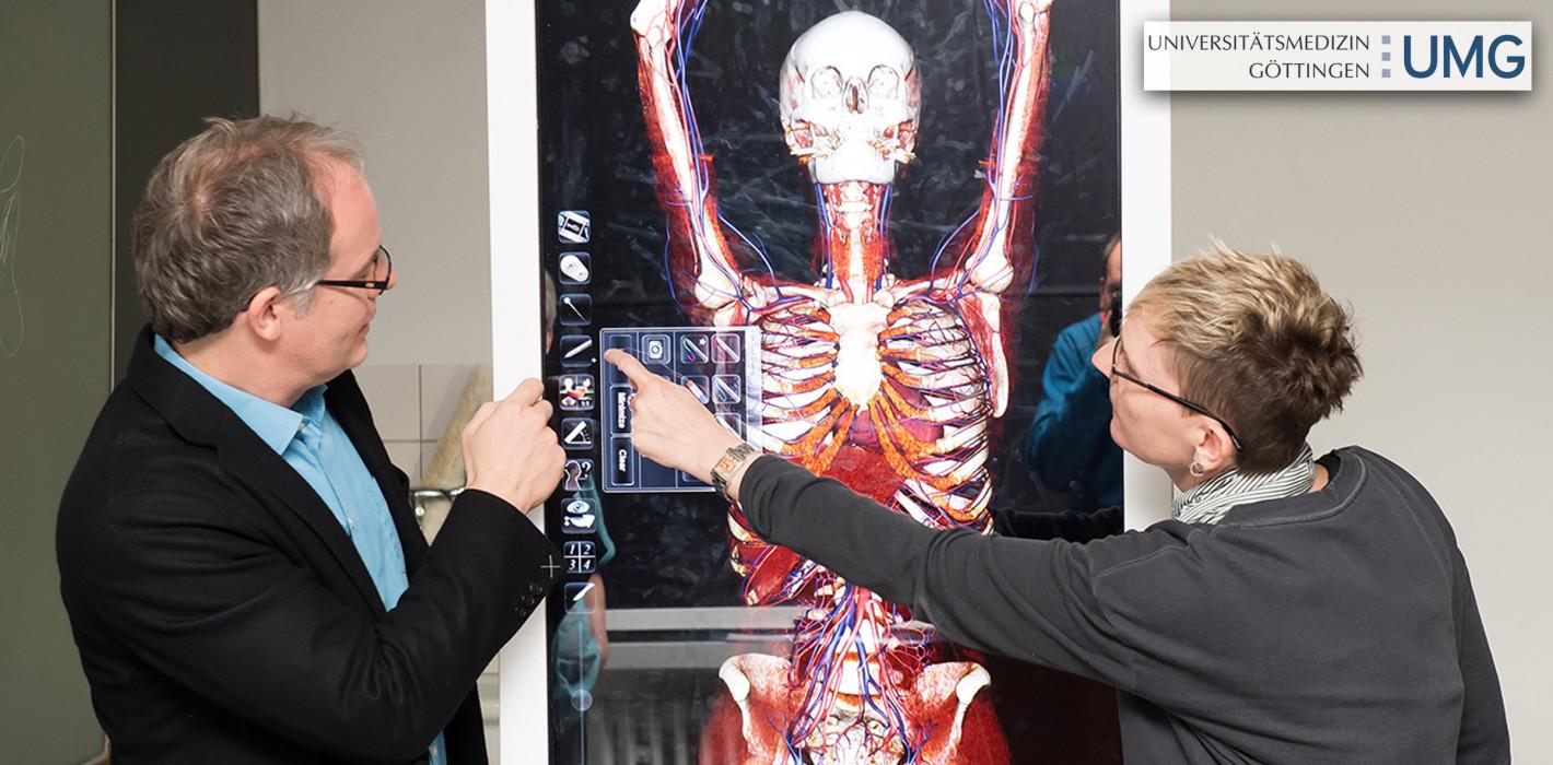 Anatomie in 3-D: Virtuelle Seziertische unterstützen moderne Lehre ...